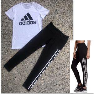 Adidas Bundle - Classic Tee, Logo tights